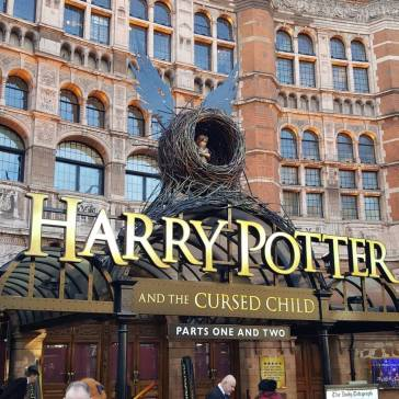 I talked to Liverpool Women's Hospital on a trip to London to see the Harry Potter play