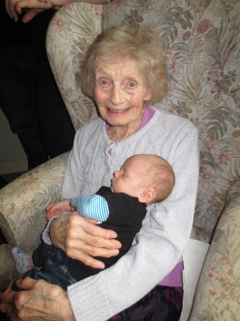 Gran with Dylan