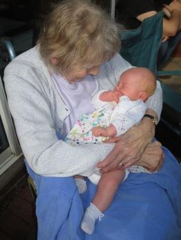 Gran with Eilys