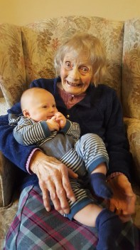 Gran with Evan