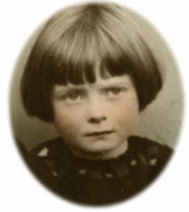 My Gran as a little girl
