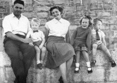 Granddad, Dad, Gran, Auntie Karen and Uncle Graham